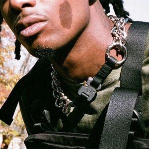 2018 ALYX STUDIO LOGO Metal Chain Bracelet Men Women Hip Hop Outdoor Street Accessories Festival Gift HFTTPJ001