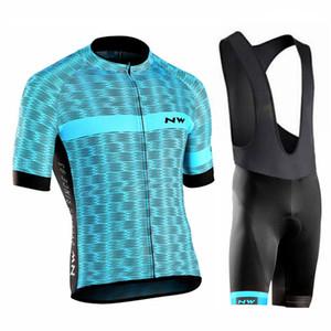 NUEVO Northwave 2018 Ciclismo conjunto conjunto Hombres NW Summer Racing Ropa Camisetas de manga corta Bib shorts traje mtb Bike wear Maillot Ciclismo 120402Y