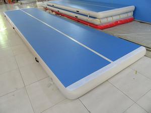 Livraison gratuite avec pompe 5 * 1 * 0.1m gonflable Tumble piste Trampoline Air piste de gymnastique gonflable Air Mat à vendre