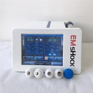 Muscle eletrônico Estimulador (EMS) Shock Wave Therapy máquina para dores no corpo Relief ED Tratamento E Celulite Redução