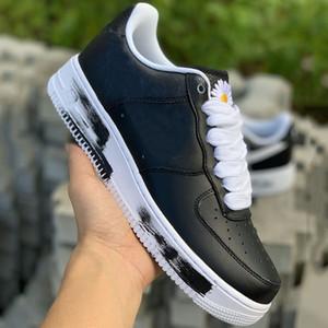 GD x PEACEMINUSONE x forzata 2019 Skateboard Scarpe Nero Bianco Designer Brand New Fashion Mens Basktball Sport Sneakers