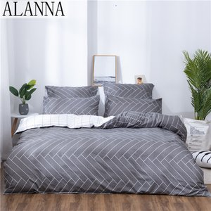 Alanna X-1022 Printed Solid bedding sets Home Bedding Set 4-7pcs High Quality Lovely Pattern with Star tree flower
