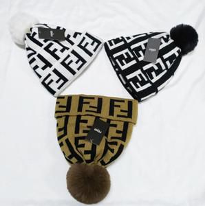 erkek tasarımcılar şapkalar kaput kış bere örme yün şapka artı kadife kap Skullies kalın maske Fringe Beanies şapkalar adam