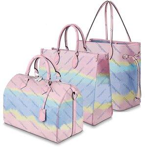 bourse Dégradé de couleur sac à main de fleur de femmes de mode en cuir des femmes de sacs crossbody sacs à main pincent vente chaude