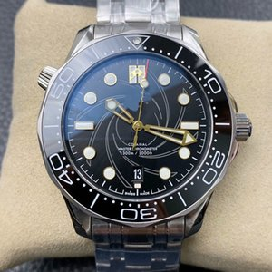 Top Luxury Mens Watches For Men Professional Sea Diver Watch Automatic Movement 42mm Ceramic Bezel Master Waterproof Watches
