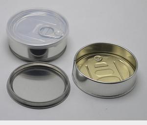 Vacie la flor de la hierba seca las latas de lata pre sellada de sellado de la tapa de la tapa presionada tapa pulverizada sn3093