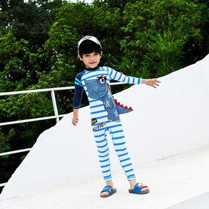 Mayo Erkek Bebek Rashgard Mayo çocuklar döküntü Guard Bikini çocuk Rushguard Mayo 2019 sörf Giyim Bikini erkek