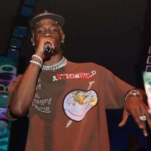 Travis Scott Astroworld Festival de visage heureux T-shirt à manches courtes d'été Hommes T-shirts 3 couleurs Designer T-shirts Rapper Hip Hop Vêtements