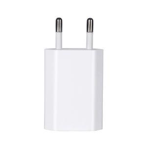 100pcs OEM Qualité 5V 1A 5W US / UE / UA Branchez l'adaptateur USB Adaptateur secteur Chargeur Alimentation A1385 A1400 avec boîte de détail