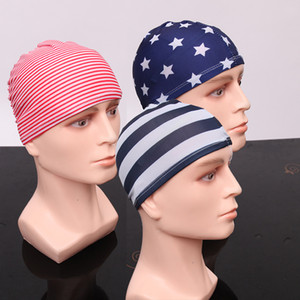 Manufacturers wholesale flower cloth swimming caps nylon paper card swimming caps wholesale cloth swimming caps opp package