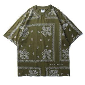 Mulit Impresso Mens Designer T-shirts Moda solto Summer manga curta Painéis Mens Tees Casual machos roupa