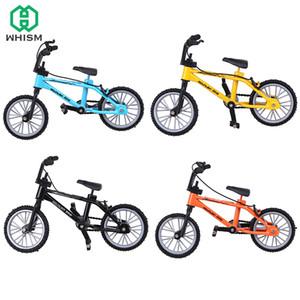 WHISM Micro Finger Bike Legierung-Gebirgsfahrrad Desktop-Toy Radfahren Modell Radfahrer Sammlung Kinder Geschenk Minifiguren Miniatur