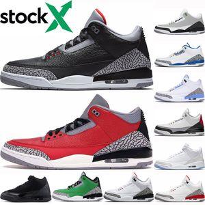 Jumpman mens Black Fire Red Cettle shoes men Black Cats Qs Katrina UNC 2020 Korea Pittor white sneakers US5. 5-13