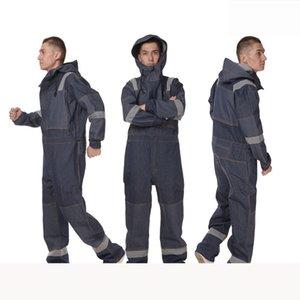 Trabajo para hombre batas workwears uniformes de trabajo, el trabajo duro de ingeniería meahine ropa de trabajo mecánico de manga larga de todos los tamaños XS-2XL