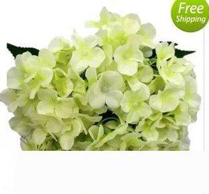 artificial flowers silk hydrangea for festival decoration commercial decoration wedding aisle flower bouquet