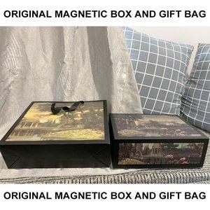 Designer Gift Box Bag Luxo Bolsas Bolsas Bolsas de Ombro Peças Acessórios caixa de presente e sacos Box Original LOGOTIPO