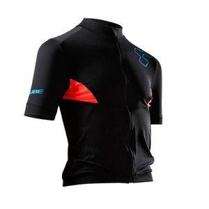 2019 Maglia Cube jersey da ciclismo traspirante Maglie a manica corta estive quick dry MTB Ropa Ciclismo P1