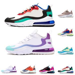 Nike 270 react Tasarımcı ayakkabı Koşu Psychedelic Lava Breezy Perşembe Perşembe Acımasız Bal Rabid Panda Üçlü Siyah Erkek Eğitmen Spor Sneakers 40-46