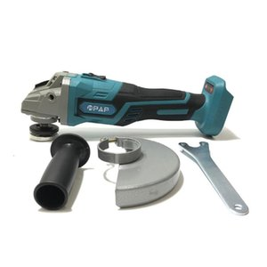 18V 125mm Electric Rechargeable Brushless Cordless Impact Angle Grinder with LED Light Power Tool