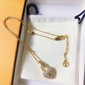 Yeni tam elmas aşk elmas moda tasarımcısı takı lüks tasarımcı takı kadınlar tasarımcı kolye