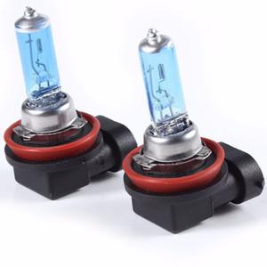 2X H1 H3 H4 H7 H8 H9 H11 HB3 HB4 9006 55W 5000K 최고 밝은 백색 광 자동차 할로겐 램프 전구 스타일링 자동차 전조등 안개등