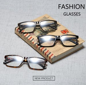 Anti-Blue PC Resin glasses TR90 Framed for unisex Glassed Frame hinge glass lens plain Lens Retro Vintage glasses