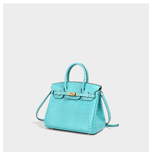 Charm2019 Grain Crocodile Woman Genuine Leather Chain Handbag Will Messenger Single Shoulder Package Cowhide