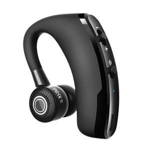 New V9 affaires Conduire sans fil Bluetooth mains-libres Bluetooth Bureau casque écouteurs avec micro commande vocale Noise Cancelling