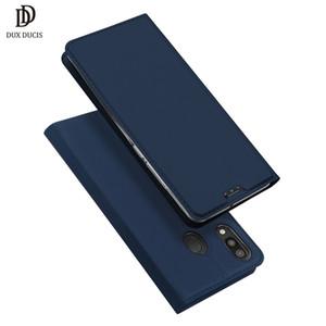 venta al por mayor Flip Case para Samsung Galaxy M20 cubierta de cuero de lujo para Samsung Galaxy M20 M 20 M10 cajas del teléfono Coque Etui