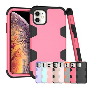 360 shockproof full protection hybrid robot defender luxury designer phone case for iphone 11 pro max xs max x xr 7 8 plus