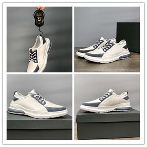 The new casual trend men's shoes are chic and have imported soft calf leather flying woven socks, sweat-absorbing and breathable, verylight1