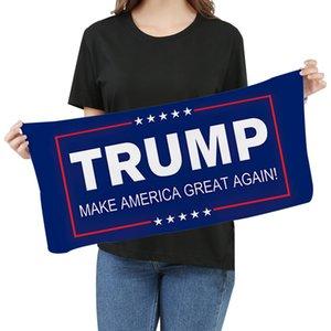Toalhas de microfibra Trump toalha de rosto eleição americana Quick Dry absorvente Sports Towel tornar a América Great Again DHA681