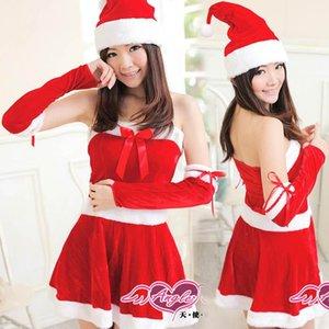 Neues Weihnachtskleid Uniformen Anzug Cosplay nette Weihnachten Kostüme Weihnachten Sexy Sexy Rock