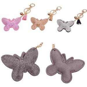 Presentes Keychain encanto bolsa carteira bolsa pingente Chaveiros Borboleta bonita do Keyfob Decoração Jóias Chaveiro bonito