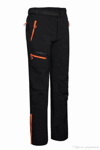 Free shipping 2018 men's outdoor hiking camping casual sports trousers composite trousers soft shell pants 1612