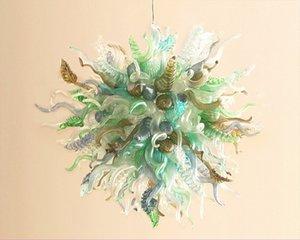 Oldukça Salon Cam Avize Hava Kargo Cam Lambası Modern Ev Dekorasyonu Galeri Art Glass Blown