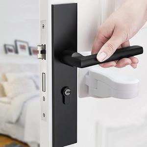 Schlösser weißer Kunststoff-Kind-sichere Sicherheits-Fenster-Türrahmenschloss Sicherheits-Hebelgriff-Sweep Latch Hardware
