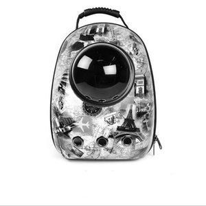 Dog Carriers Pet Cachorrinho portador do cão Travel Bag Outdoor portador Travel Bag Cápsula Espacial respirável Mochila Pet portátil XHCFYZ103 saco de viagem