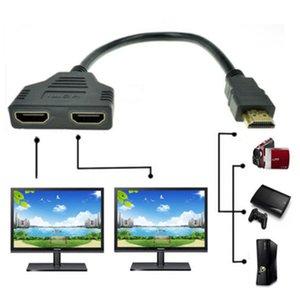 30cm HDMI Erkek HDMI Bayan Dönüşüm hattı Out Splitter Kablosu Dönüştürücü Destek 1080P Xbox PS3 HDTV