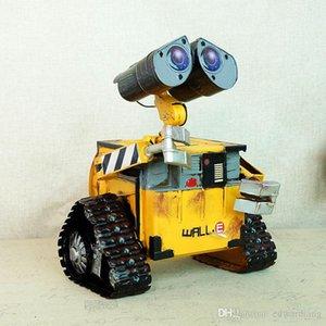 Desenhos animados Toy flandres, Moive robô WALL-E, Dinheiro-caixa, Ornamento retro bonito Criativo, prenda de Natal da festa de aniversário do miúdo, recolher, Decoração, SMT1060