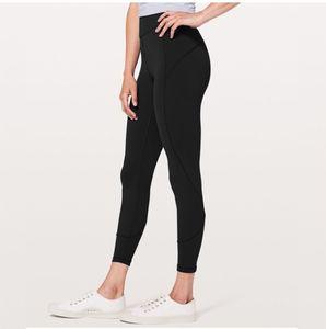 Matériel nu Yoga Pantalon taille haute Leggings Courir élastique Fitness Quick Dry Yoga Wear Tenues dames Marque Tight Casual
