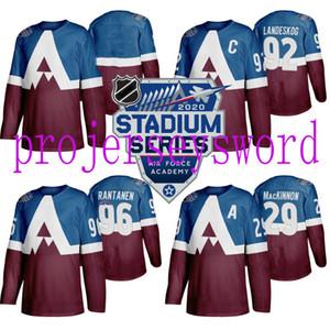 Mens 2020 Stadium Series Jersey Colorado Avalanche 29 Nathan MacKinnon 92Gabriel Landeskog 96 Mikko Rantanen Hockey Jerseys Cheap Wholesale