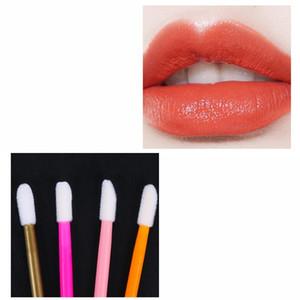 50Pcs Lipstick Mascara Applicator Wands Eyelash Eyeshadow Makeup Cleaner Remover Disposable Lip Brush Cosmetic Tools Set