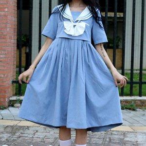 School dress large size pleated skirt student cosplay anime pleated skirt Jk uniform sailor suit girl dress