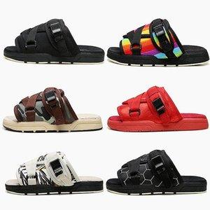 New Brand Visvim pantofole di moda Scarpe Mans e donne amanti dei pattini casuali della spiaggia dei pistoni dei sandali Outdoor Pantofole Hip-hop via Sandali