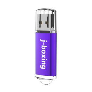Purple 64GB USB 2.0 Flash Drives High Speed Rectangle Memory Sticks 64gb Thumb Pen Storage for PC Laptop Macbook Tablet Flash Pen Drive