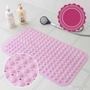 Lechón para no Slip Mat sabor súper suave cojín pequeño agujero de la puerta de alfombras Rug Ducha Sala de accesorios de baño color puro 26 8br5b1