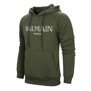 2020 Marque Designer femmes Balmain hommes Sweat-shirt Vestes Rose Vêtements Noir Blanc Taille EURO Sweats à capuche BALMAIN