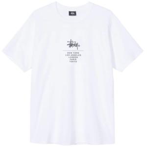 YAZ Yeni / stussy Erkek Tasarımcı Pamuk tişört Tide Marka Yuvarlak Yaka Baskılı Pamuk Kısa Kollu Tee 2020