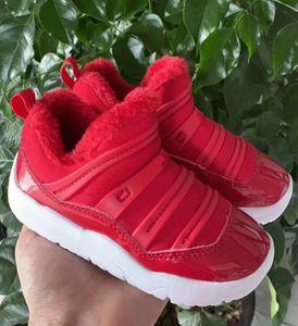 높은 품질 새 신발 소년 디자이너 신발을 훈련 3 3S 소년 소녀 겨울 플러스 벨벳 하나 개의 페달 농구 신발 운동화 여자 스포츠